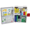 TRAFALGAR WALLMOUNT FIRST AID KIT NATIONAL WORKPLACE ABS Plastic White
