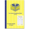 SPIRAX BUSINESS BOOK 555 Invoice Statement 207mm x 144mm Carbonless Side Opening