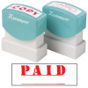 XSTAMPER STAMP CX-BN 1221 PAID RED