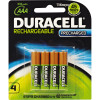 DURACELL RECHARGEABLE BATTERY AAA Precharged - Pack of 4