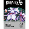 REEVES BLACK SKETCH PAD A5