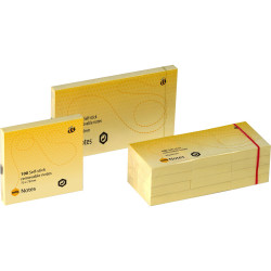 MARBIG NOTES 75mm x 125mm Yellow 1200 Sheets Pack