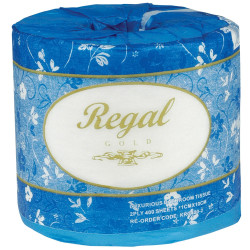 Regal Gold Toilet Paper Rolls 2 Ply 400 Sheets Carton of 48