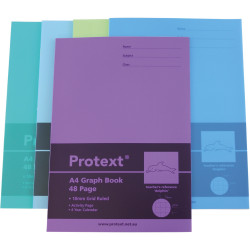 PROTEXT POLY GRAPH BOOK 10mm 48pg Dolphin