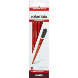 Columbia Copperplate Pencil Hexagon B Pack Of 20