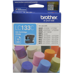 BROTHER INK CARTRIDGE LC-133C Cyan