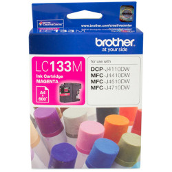 BROTHER INK CARTRIDGE LC-133M Magenta