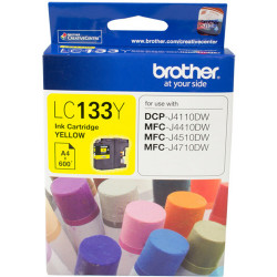 BROTHER INK CARTRIDGE LC-133Y Yellow