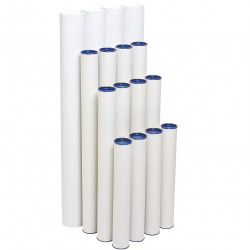 MARBIG MAILING TUBE 60mm x 600mm Pack of 4
