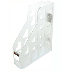 METRO 3462 MAGAZINE RACK Snow/ Crystal