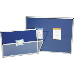 NOBO INTERNAL NOTICE BOARDS A0 1265x965mm Blue